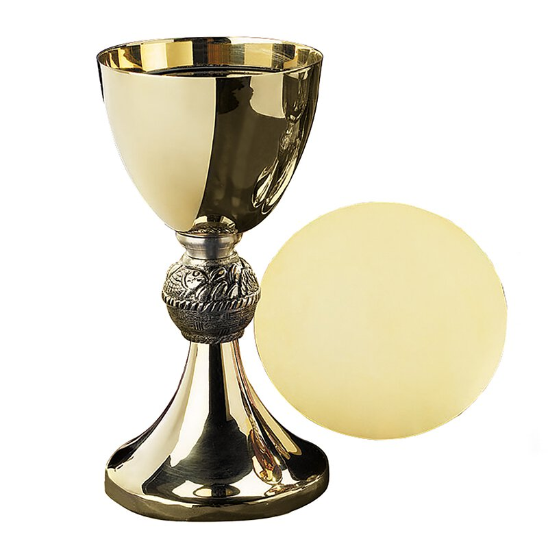 Loaves & Fishes Chalice with Paten