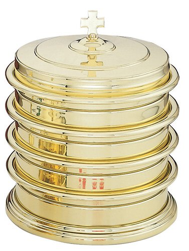 High Polished Brass Communion Tray