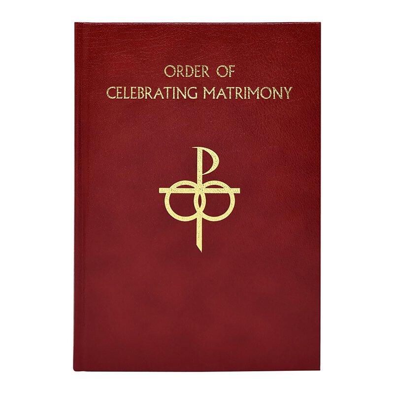 Order of Celebrating Matrimony - Leather