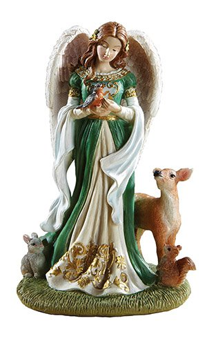 "5"" Woodland Angel Figurine"