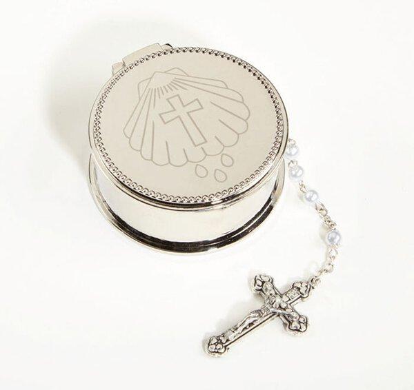 Baptism Rosary Box - 3/PK