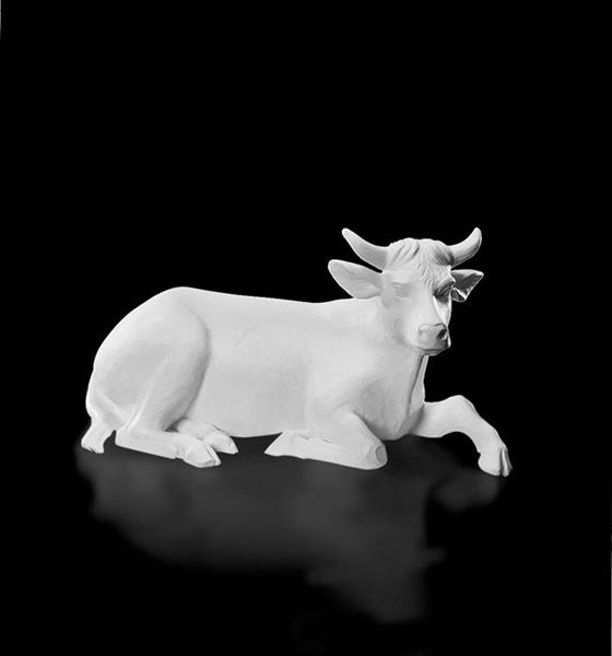 """32"""" Val Gardena White Ox"""