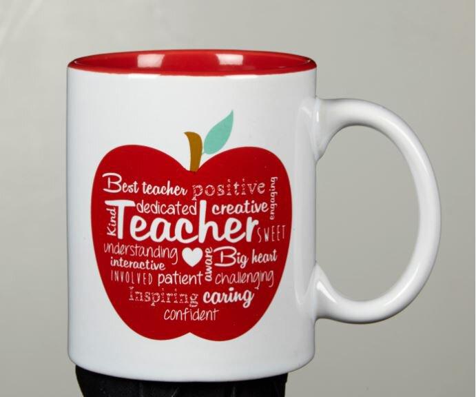 Word Art Mug - Teacher