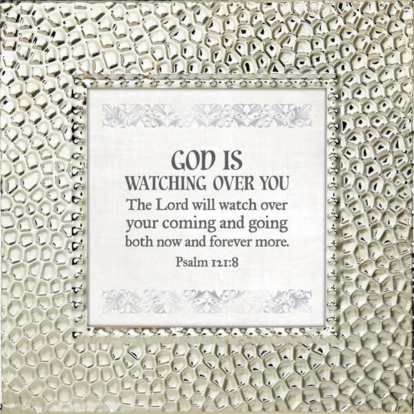 Touch of Vintage 7x7 Frame - Psalm 121:8 - Discontinued
