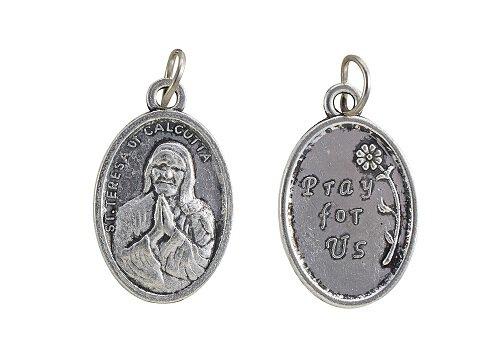 St. Teresa of Calcutta Devotional Medal - 50/pk
