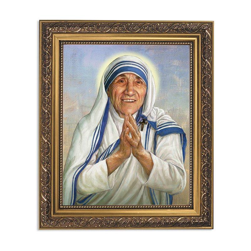 11 x 13 Saint Teresa Framed Print