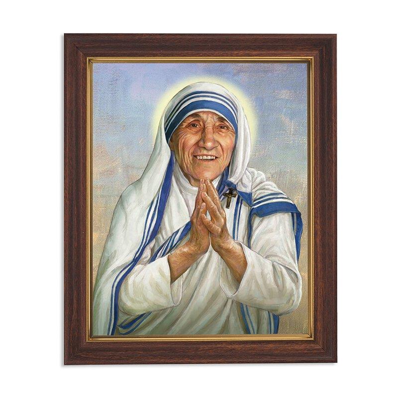 10 x 12.5 Saint Teresa Framed Print