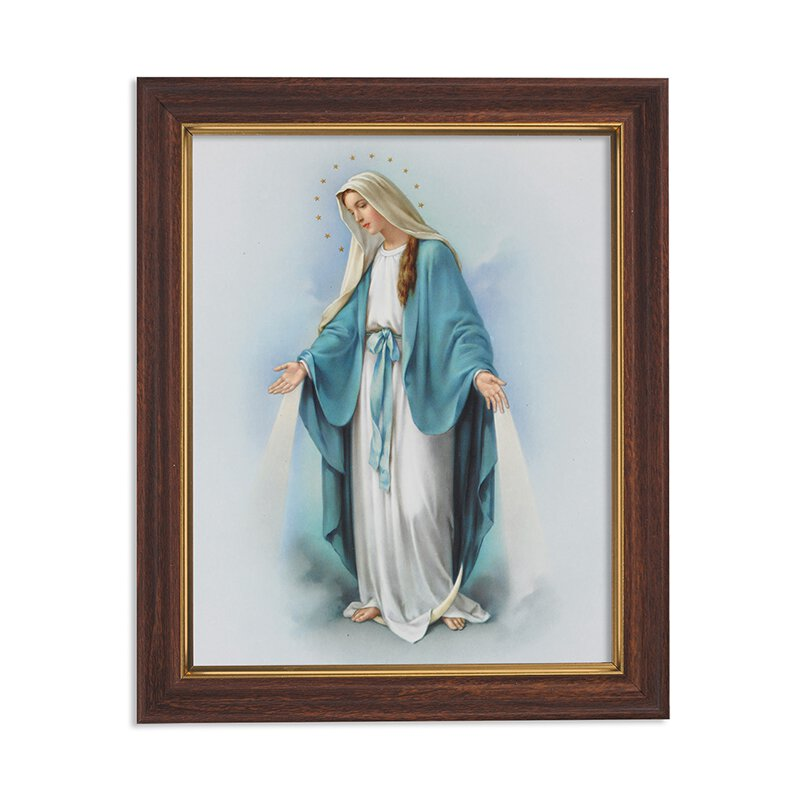 """Framed Print 10 x 12.5"""" Our Lady of Grace"""