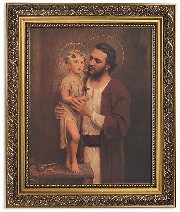 "Framed Print 11 x 13"" Chambers: Saint Joseph"