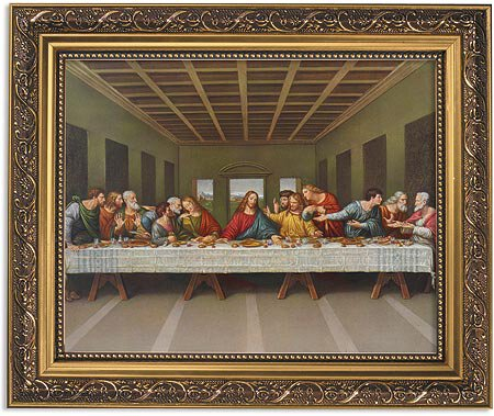Da Vinci: Last Supper Framed Print