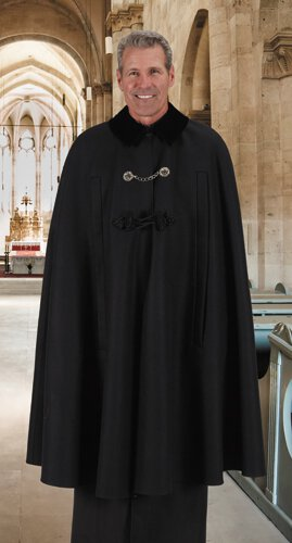 Custom Cape with Side Slits - Fully Lined