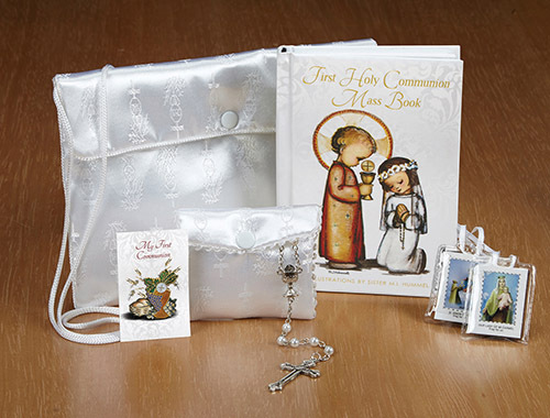 Hummel® First Communion Satin Purse Set