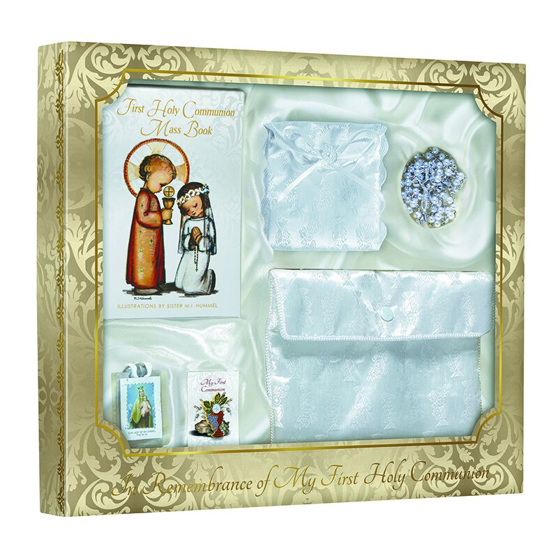 Hummel® First Communion Satin Purse Set