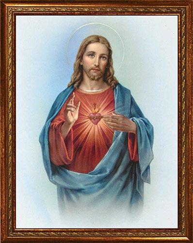 """Sacred Heart 14 x 18"""" Framed Print"""