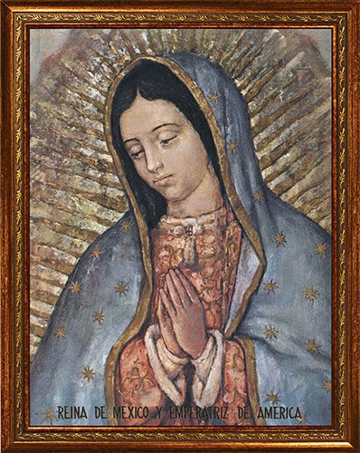 "14 x 18"" Our Lady of Guadalupe Framed Print"