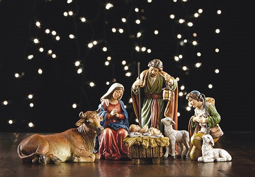 "5"" Michael Adams 6-pc Nativity Set"