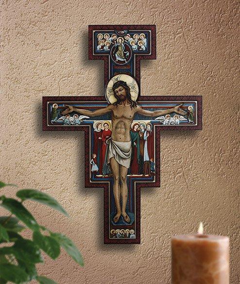 Marco Sevelli San Damiano Crucifix