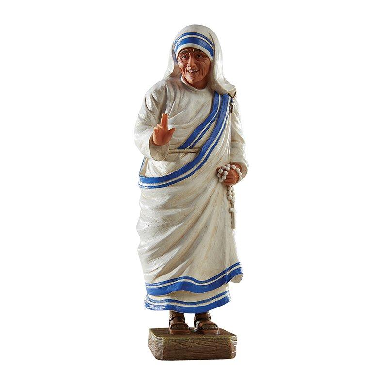 "8"" Toscana Saint Teresa Statue"