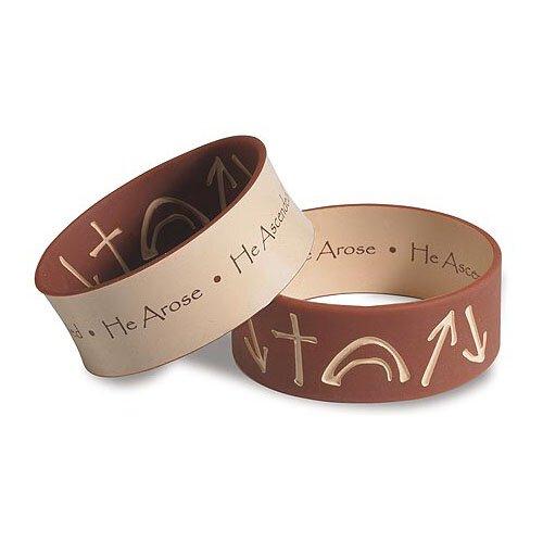 Witness® Brown/Tan Witness Bracelet -30/pk
