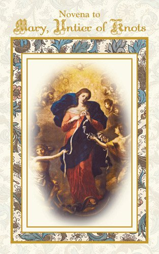 Aquinas Press® Novena Book - Mary Untier of Knots