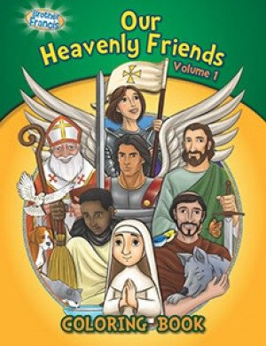 Our Heavenly Friends Vol.1 Coloring Book