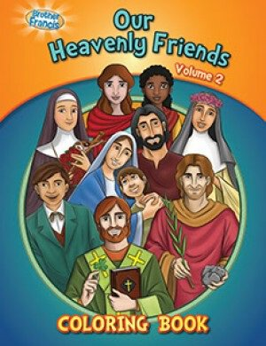 Our Heavenly Friends Vol.2 Coloring Book