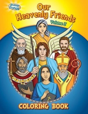 Our Heavenly Friends Vol.3 Coloring Book