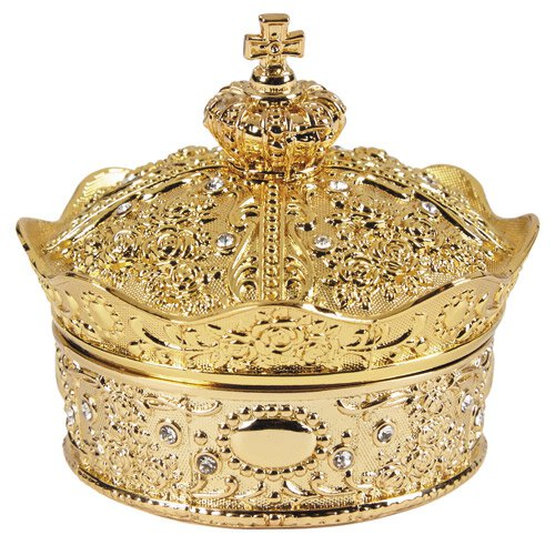 Gold Crown Box with Arras Coins Set