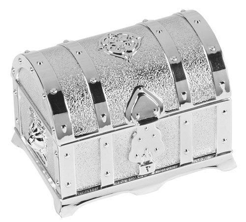Silver Treasure Box with Arras Coins Set