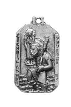 Sterling St. Christopher Medal