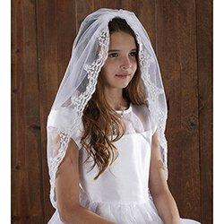 36 inch Lace Mantilla First Communion Veil