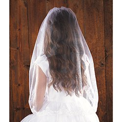 36 inch Lace Mantilla First Communion Veil