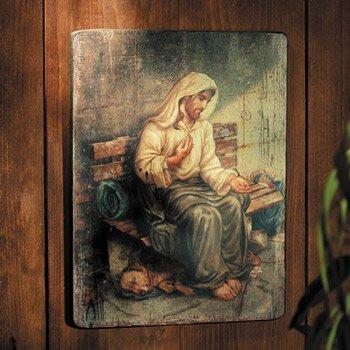 Homeless Jesus - No Place to Rest Plaque