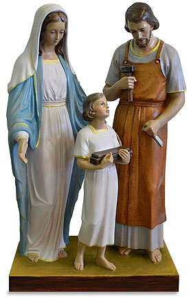 "44"" Holy Family Statue"