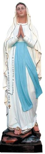 Our Lady Lourdes Fibrglass Statue