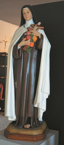 "40"" St. Therese Fiberglass Statue"