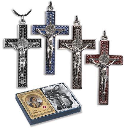 Saint Benedict Crucifix Gift Set