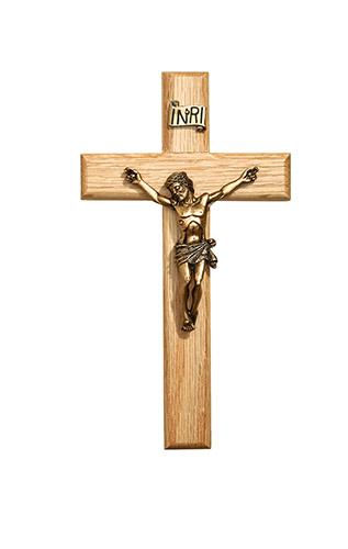 Oak Crucifix