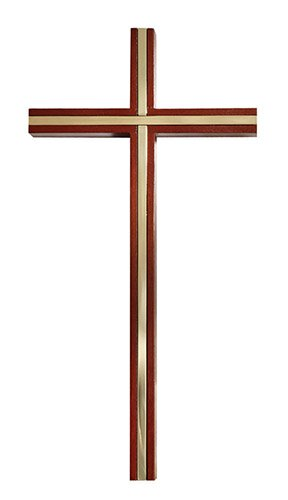 James Brennan™ Wall Cross with Inlay