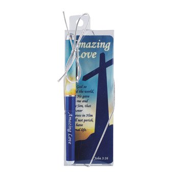 Amazing Love Gift Pen with Bookmark - 12/pk