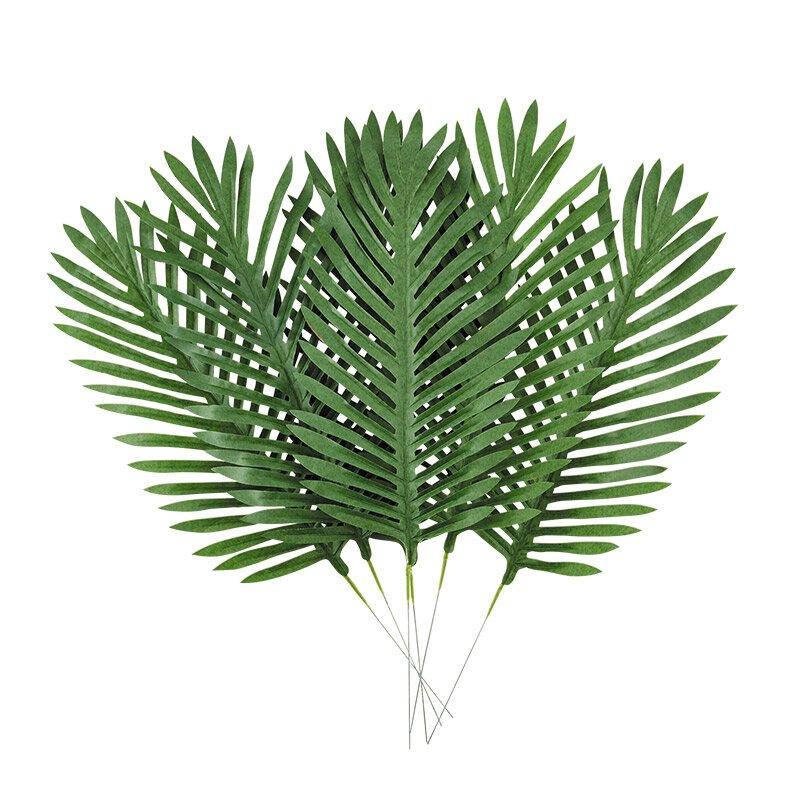 24 artificial palm branch 12 pk