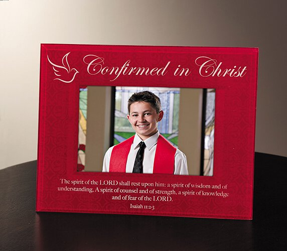Confirmed in Christ Glass Photo Frame - 4/pk