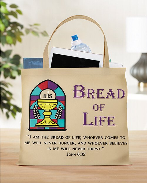 Bread of Life First Communion Tote Bag - 12/pk