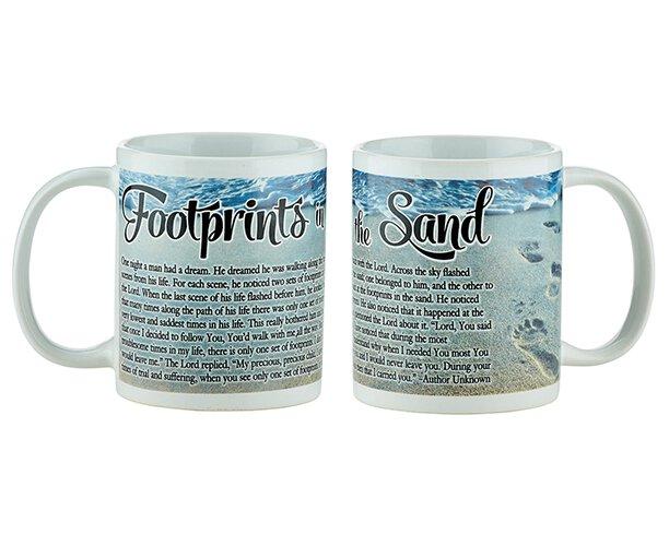 Footprints Prayer Mug - 12/pk