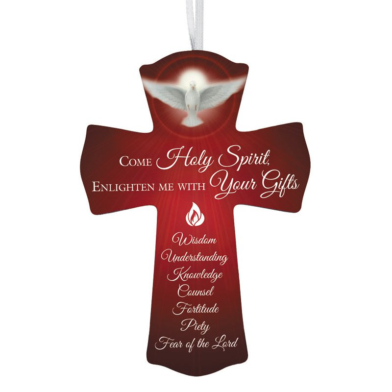 Come Holy Spirit Confirmation Cross - 12/pk