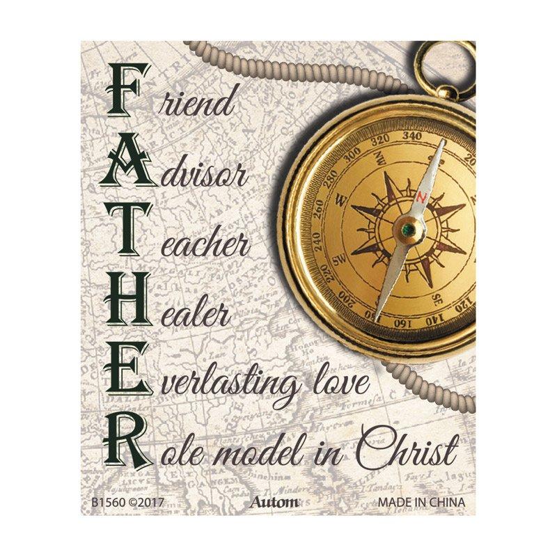 Father Acronym Magnet - 24/pk