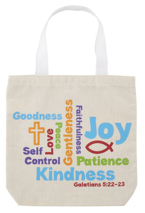 Fruits of the Spirit Tote Bag - 12/pk