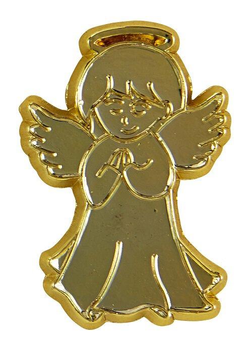 Praying Angel Lapel Pin - 50/pk