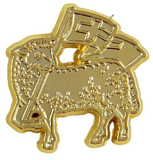 Lamb of God Lapel Pin - 25/pk