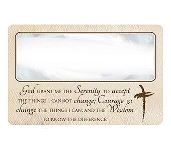 Serenity Prayer Magnifying Bookmark - 24/pk